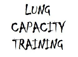 Increase lung capacity for surfing at home